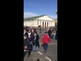 Перекрёсток. Библиотека им. Ленина. Апрель, 2018