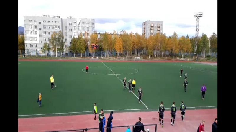 2-ой тайм ФК «Химик» – ФК «Мончегорск»