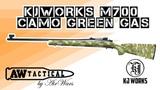 Страйкбольная снайперская винтовка KJWORKS M700 CAMO GREEN GAS 600713