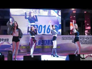 4K 직캠 Girlsday 걸스데이 공연 안동대 축제 160924 spdstudio