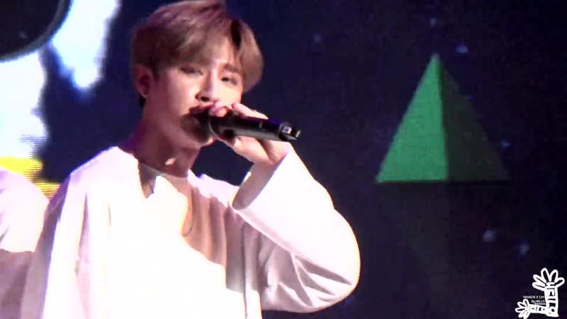 [VK][20161223] MONSTA X fancam - White Sugar (I.M focus) @ Lotte World All Night Party