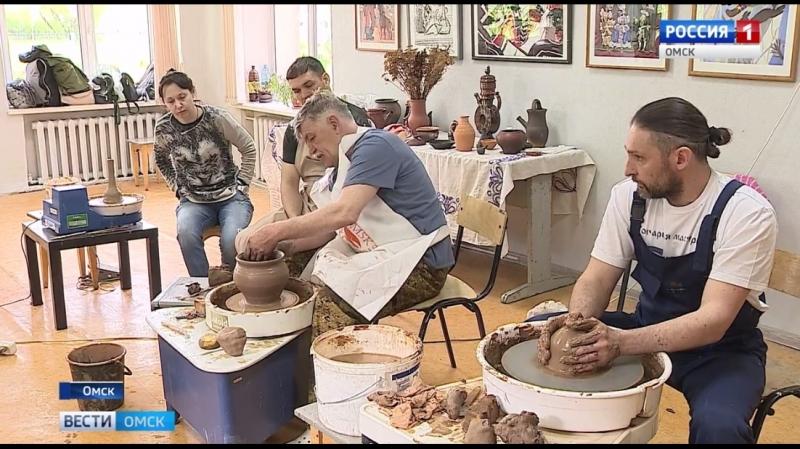 Фестиваль керамики в Омске (сюжет Вести Омск)