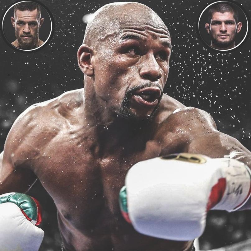 С кем из бойцов ММА вы бы хотели увидеть бой Флойда по боксу?