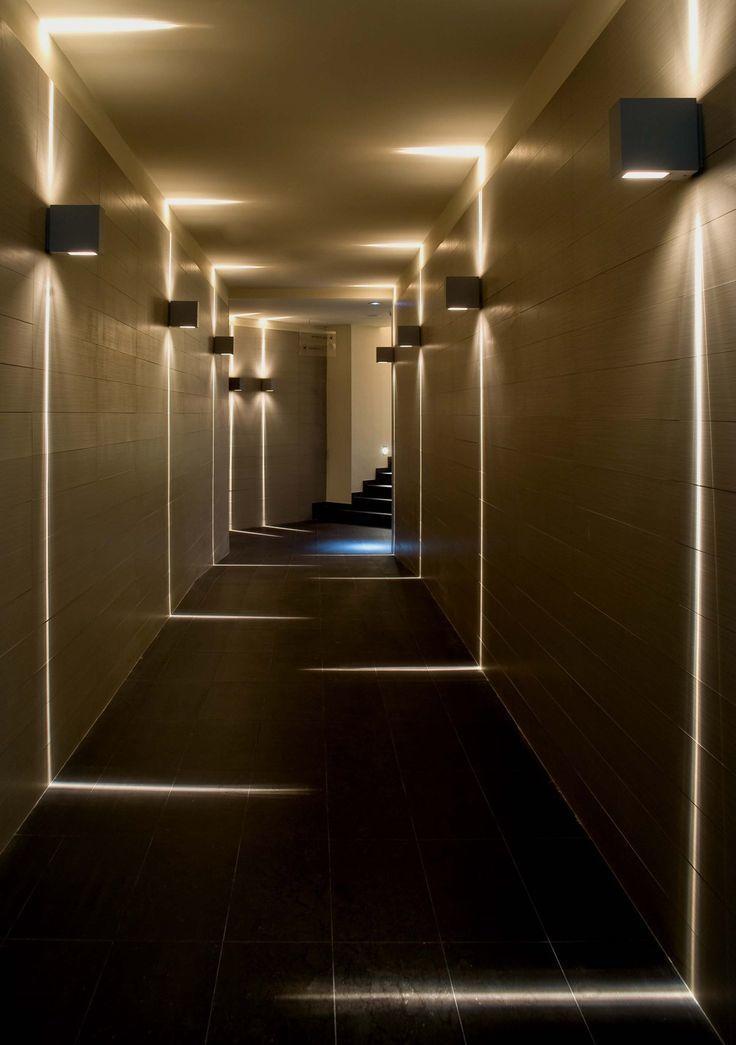 Дизайн, освещение стен.