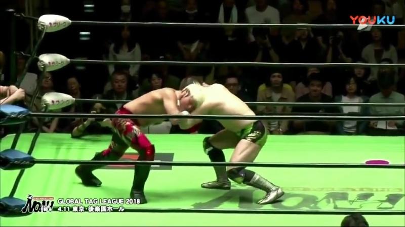 Pro Wrestling NOAH Global Tag League 2018 (2018.04.11) - День 9 (Final)