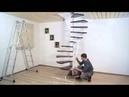 Сборка винтовой лестницы ПРАГМАТИК