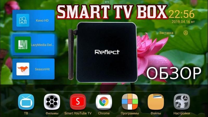 Обзор Мощной Смарт ТВ приставки Reflect MS 4.32 Русскоязычная техподдержкагарантийное обслуживание