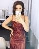 """Анастасия Макеева on Instagram """"В каждой женщине есть немножко Мэрилин 😂😂😂😂Ну откуда это жеманство ,как только на меня надевают такое платье и дел..."""
