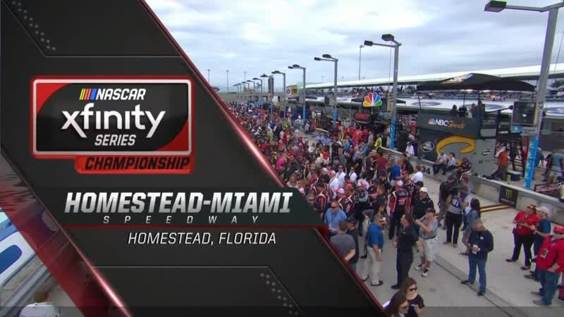 2018 NASCAR XFINITY Series - Round 33 - Homestead-Miami 300