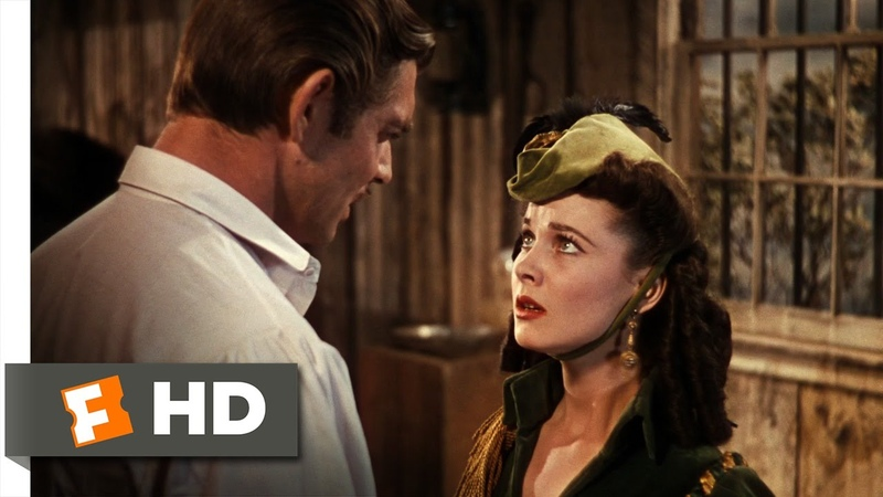 Gone with the Wind (5/6) Movie CLIP - Abasing Herself (1939) HD