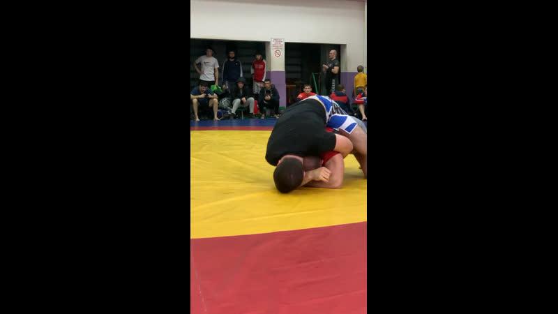 Ерстем Киков 84кг Чемпионат ЮФО по грепплингу UWW 2019г