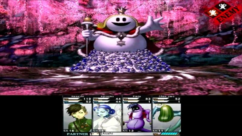 04 Shin Megami Tensei 4 Apocalypse Босс King Frost