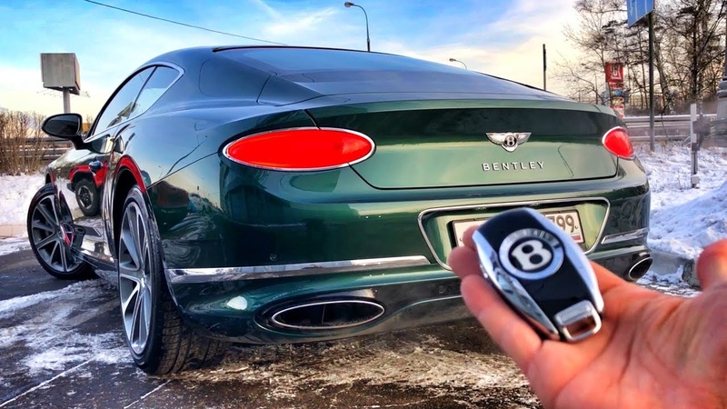 ЗАБРАЛ новый BENTLEY за 18 МЛН!) 635 л.с. / 900 Нм! CONTINENTAL GT. Обзор и тест-драйв.