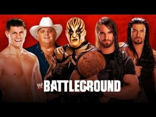 [Wrestling Matches] WWE 13 The SHIELD vs Cody Rhodes & Goldust (Tag Team Match) Battleground 2013