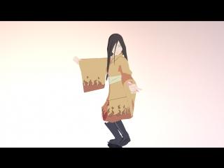 【MMD】Senbonzakura【Hanabi Hyuga】