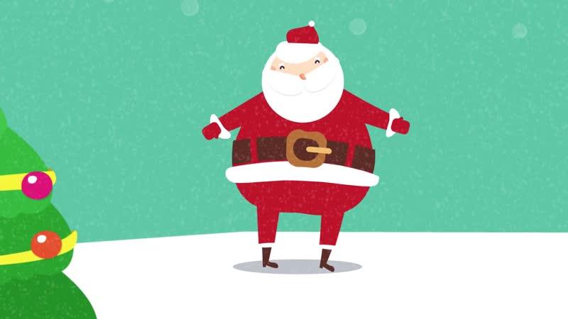 Shake Them Santa Claus Bones ¦ Kids Christmas Songs ¦ Santa Claus Song ¦ The Kiboomers
