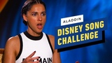 Disney Song Challenge with Cast of Live-Action Aladdin
