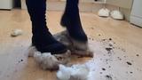 Teddy Bear Stomp &amp Crush - Muddy High Heels Boots Messy Feet