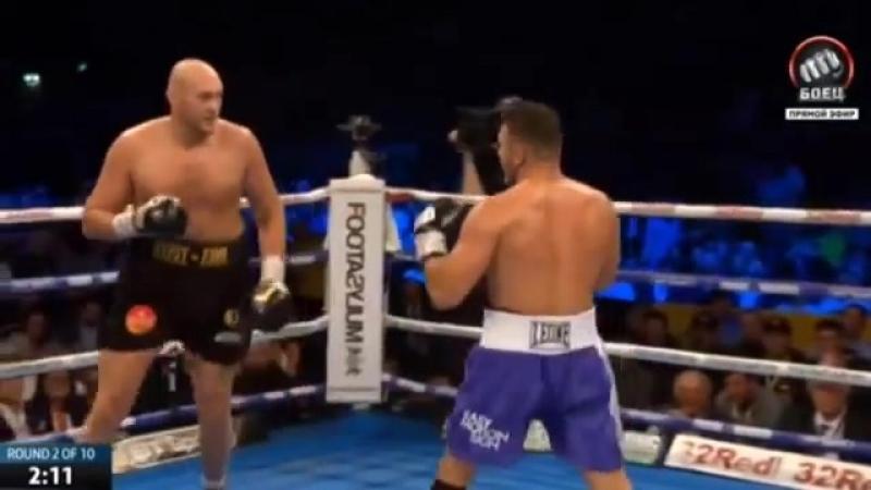Tyson Fury vs. Sefer Seferi