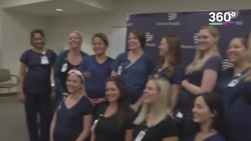 В Аризоне одновременно забеременели 16 медсестер