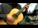 """Morrowind Theme """"Call of Magic"""" on Classical Guitar (Cover)"""