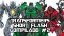 TransFormers Short Flash Compilado 2 era da extinção ( Todo o Crédito Para o Animador Osro