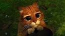 Сколько ты видел котов, которые ходят в сапогах Момент из Мультфильма Шрек 2