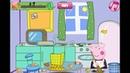 Смотреть Свинка Пеппа мультик игра для девочеки Уборка в комнате / See Peppa Pig cartoon