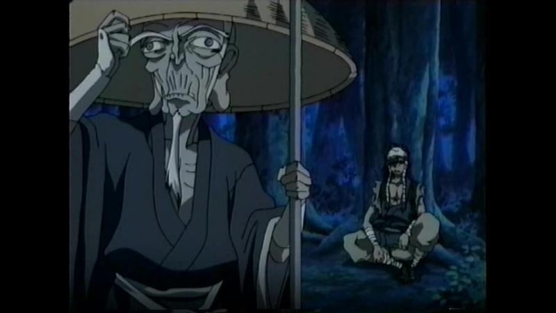 Манускрипт ниндзя: Новая глава / Ninja Scroll: The Series / Juubee Ninpuuchou: Ryuuhougyoku Hen - 10 серия (Д. Толмачев) [2003]