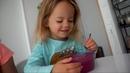 Что Николь ест за день (3 годика, ВЕГАН) ☀️