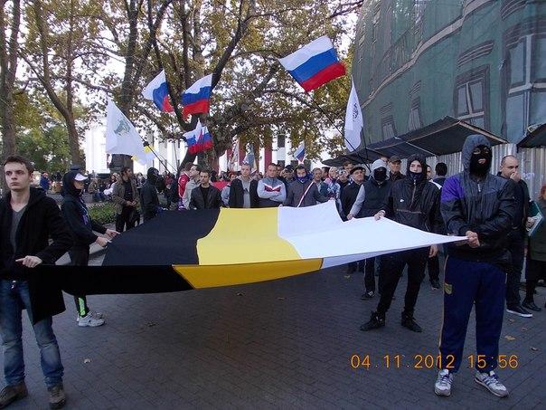 Русский марш в Одессе самый мнгочисленный за последние 6 лет
