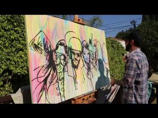 Ziggy Marley, U-Roy - Fly Rasta [Art Video]