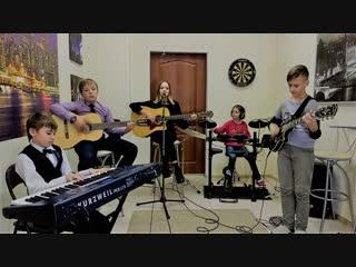 гр. Магнитола - Лететь (А-мега cover)