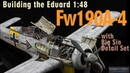 Building the Eduard Fw190A-4 Resin BMW 801 Engine Scale Model Aircraft