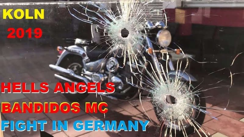 HELLS ANGELS BANDIDOS MC MEMBERS HAVE FIGHT FOR THE 1ST TIME IN KOLN GERMANY 2019