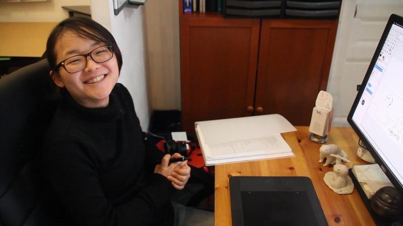 Interview of Aryeom, ZeMarmot animation film director