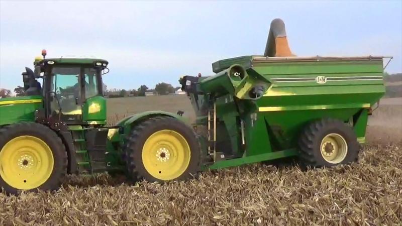2016 Corn Harvest - Greenville Ohio Winchester Indiana