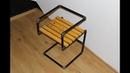 Как сделать стул из водопроводных труб 2/ How to make a chair out of pipes 2 DIY.