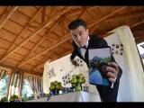 Свадьба, классный ведущий - Владимир Курган, молодожёны - Артур и Оксана