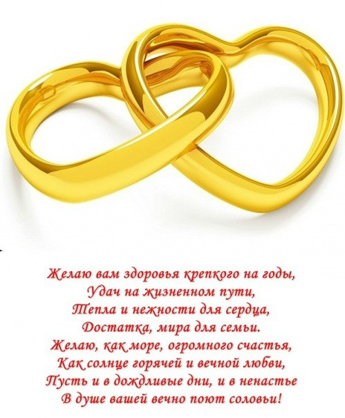 Поздравление на день свадьбы 39
