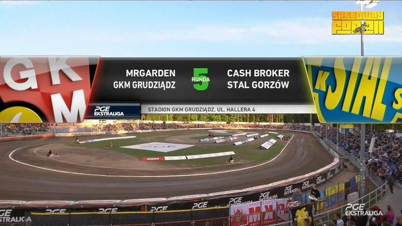MRGARDEN GKM Grudziadz - Cash Broker Stal Gorzow 04.05.2018