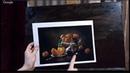 """1 Надежда Ильина Новогодний Фестиваль """"Ёлки палки кисти"""" Натюрморт с мандаринами ОБЩЕЕ"""
