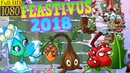 Plants vs. Zombies 2 - Feastivus 2018 - Best moments   Holly Barrier Sap-fling Missile Toe (Ep.420)