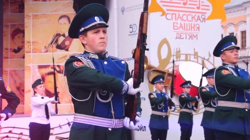 Межрегиональный конкурс молодежных почетных караулов 2017 (Отчет)