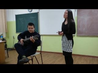 Песня на стих Сергея Есенина