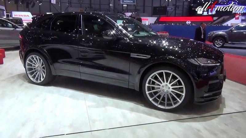 HAMANN Jaguar F-Pace all black | Geneva Autoshow