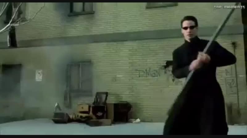 Матрица:Перезагрузка-Нео против Смитов