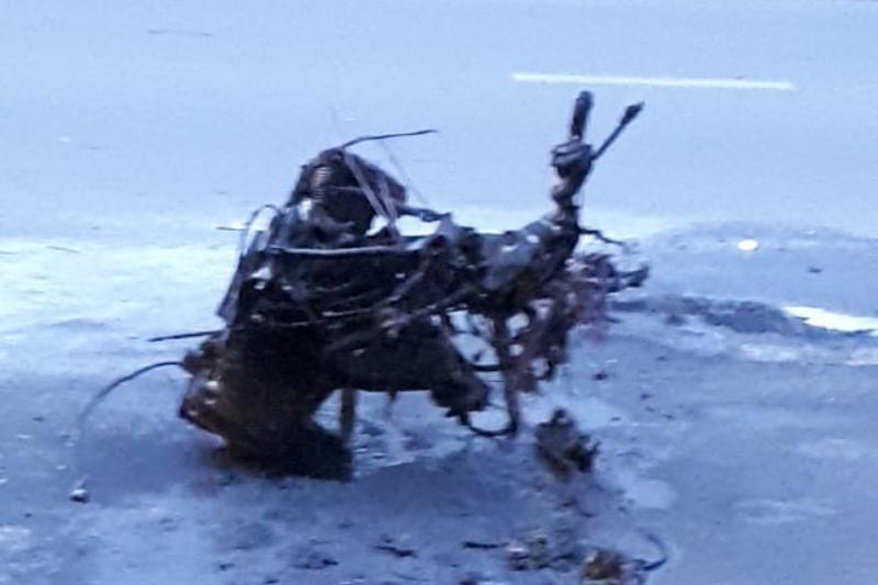 Фатальная мото авария в Новороссийске