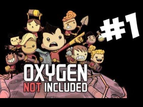Первые шаги Oxigen not included 1