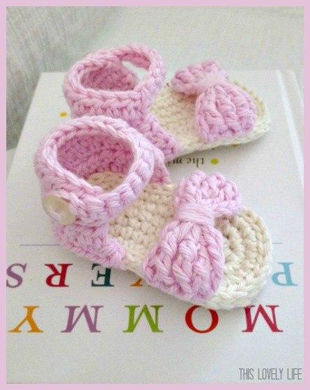 Пинетки сандалики (5 фото)
